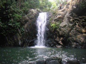 Curug Gendang Waterfall Pandeglang Banten